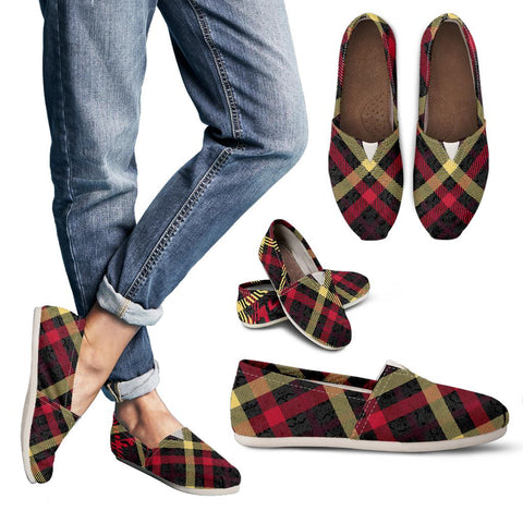 Exclusive Tartan Women's Casual Shoes - Jabrichank.com