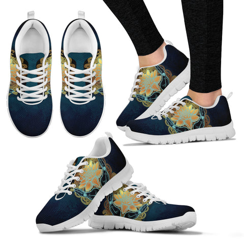 Womens Lotus in Hand Sneakers. - Jabrichank.com