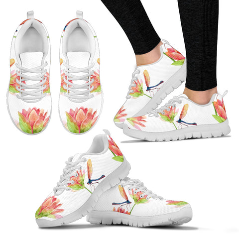 Spring Lotus Dragonfly Sneakers - Jabrichank.com