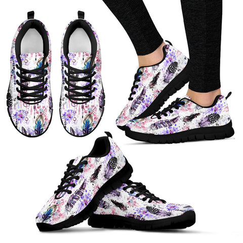 Wildflowers Hippie Style Sneakers - Jabrichank.com