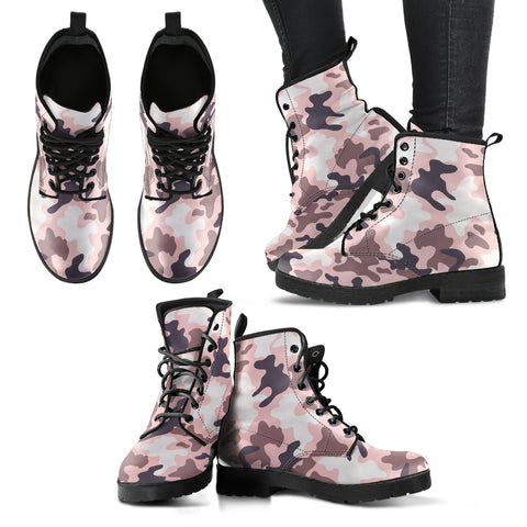 Camouflage 5 Handcrafted Boots - Jabrichank.com