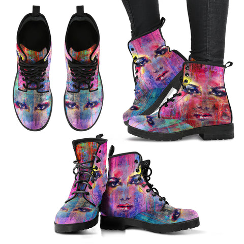 Colorful Eye Handcrafted Boots - Jabrichank.com