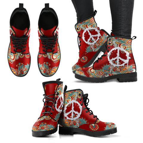 Peace & Flower Handcrafted Boots V3 - Jabrichank.com