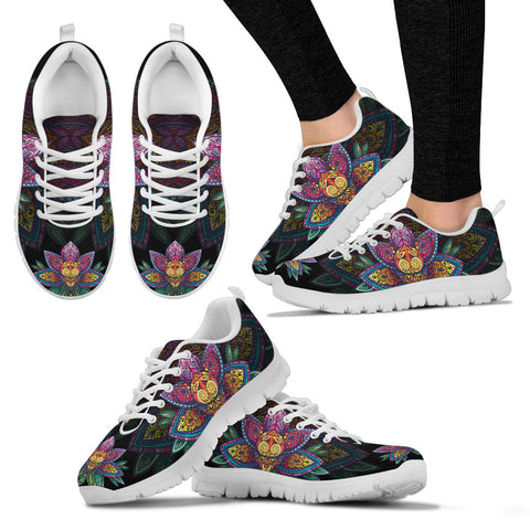 Sugar Lotus Mandala Sneakers. - Jabrichank.com