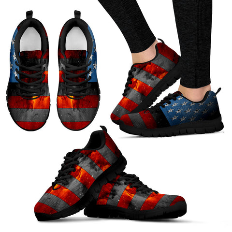American Space Flag Women's Running Shoes - Jabrichank.com