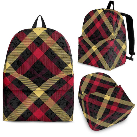 Exclusive Tartan Backpack - Jabrichank.com