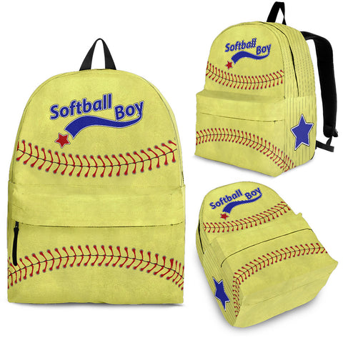 Softball Boy Backpack - Jabrichank.com