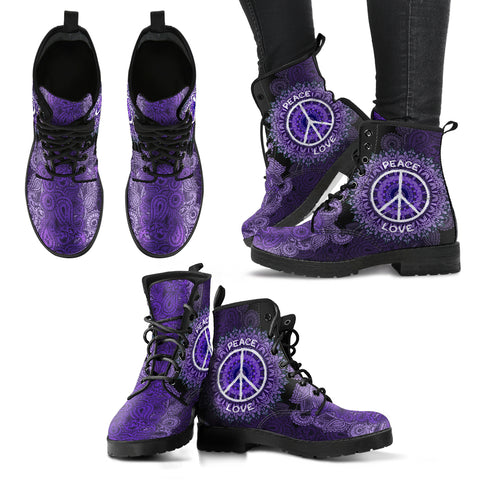 Peace & Love Handcrafted Boots V4 - Jabrichank.com