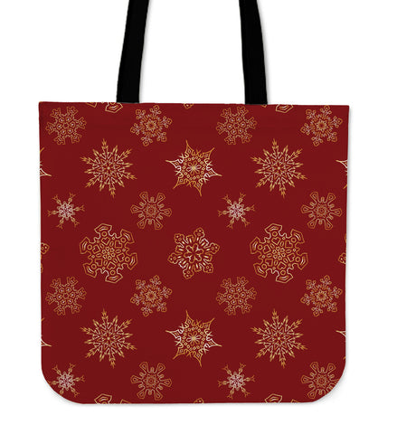 Christmas Red Good Vibes Only Cloth Tote Bag - Jabrichank.com