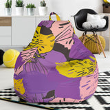 Flowery Violet Dream Bean Bag Chair - Jabrichank.com