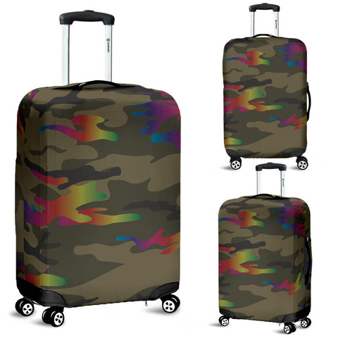 Glittering Camouflage Luggage Cover - Jabrichank.com