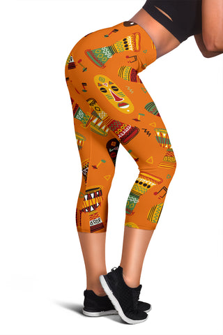 African Women's Capris Leggings - Jabrichank.com