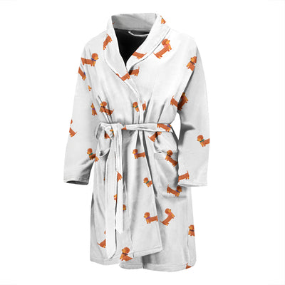 Sausage dog MEN'S BATHROBE - Jabrichank.com