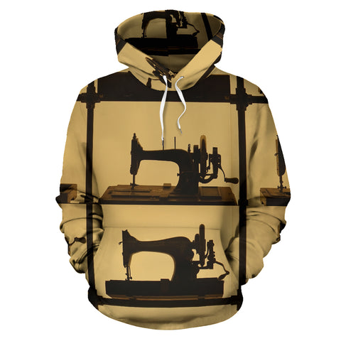 Sewing Machine All Over Print Hoodie - Jabrichank.com