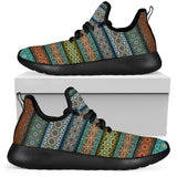 Fantastic Oriental Dream Mesh Knit Sneakers - Jabrichank.com