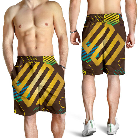Experimental Gold Men's Shorts - Jabrichank.com