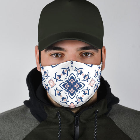 Classic Ornamental Vibes Two Protection Face Mask - Jabrichank.com