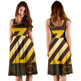 Experimental Gold Women's Dress - Jabrichank.com