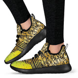 Energizing Neon Dots Mesh Knit Sneakers - Jabrichank.com