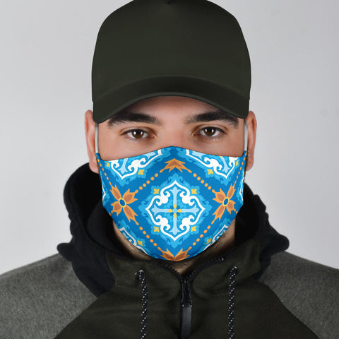 Classic Luxury Ornamental Design Two Protection Face Mask - Jabrichank.com