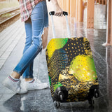Energizing Neon Dots Luggage Cover - Jabrichank.com