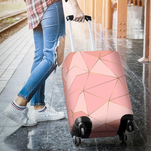 Glittering Marble Love Luggage Cover - Jabrichank.com