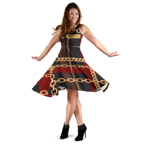 Extraordinary Chain Women's Dress - Jabrichank.com