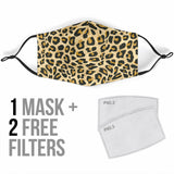 Classic Leopard Art Protection Face Mask - Jabrichank.com