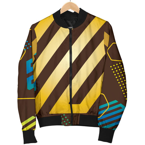 Experimental Gold Men's Bomber Jacket - Jabrichank.com