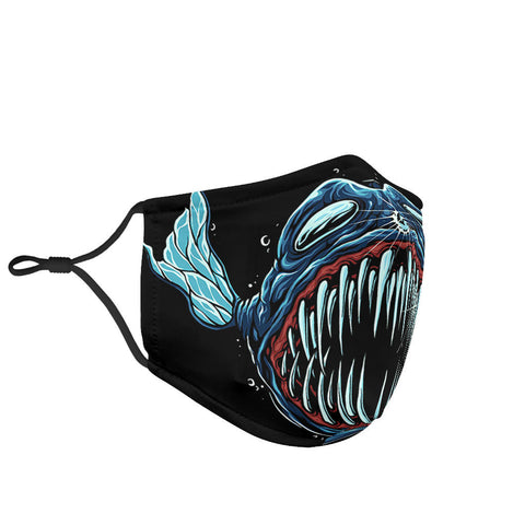 Devil Fish Mouth Protection Face Mask - Jabrichank.com