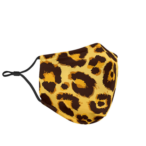 Leopard Skin Style Protection Face Mask - Jabrichank.com