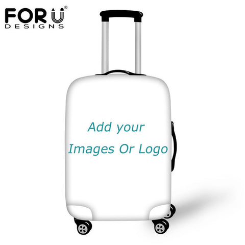 FORUDESIGNS Elastic Travel Suitcase Protective Covers For 18-30 Inch Trolley Case Waterproof Anti-dust Luggage Covers Thicken