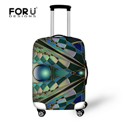 FORUDESIGNS Elastic Travel Luggage Protective Cover Made S/M/L To Suitcase 18-30 Inch Trolley Protecter Cover Travel Accessories