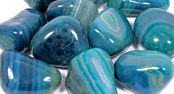 Teal Agate Healing Crystals