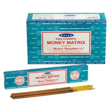 Money Matrix - Satya Incense Sticks