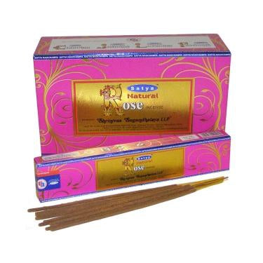 Natural Rose - Satya Incense Sticks