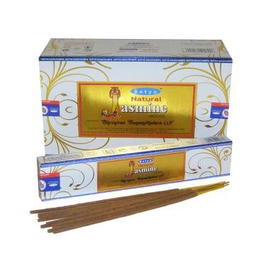 Natural Jasmine - Satya Incense Sticks