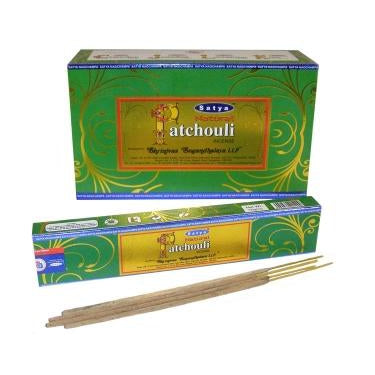 Natural Patchouli - Satya Incense Sticks