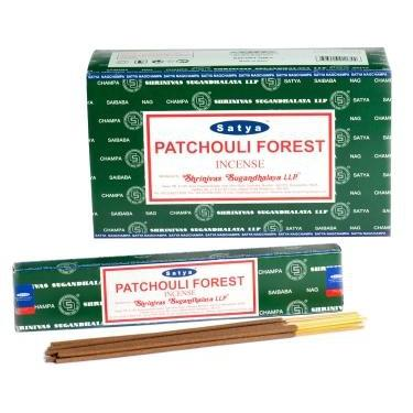 Patchouli Forest - Satya Incense Sticks