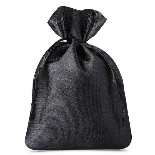 Satin Bag 8 x 10cm - Black