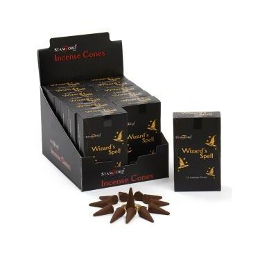 Wizards Spell - Stamford Black Incense Cones