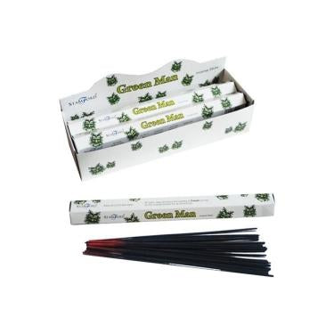 Green Man - Stamford Incense Sticks
