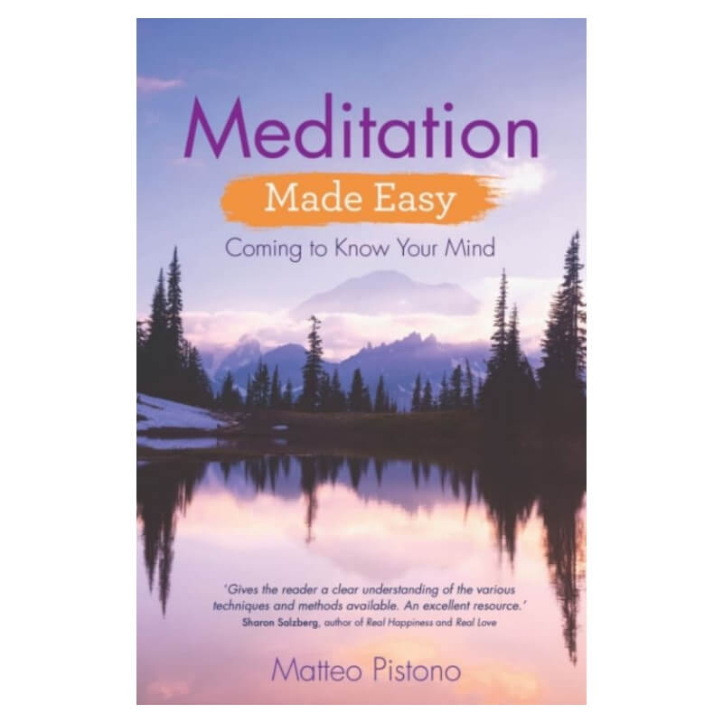 Meditation Made Easy : Coming to Know Your Mind by Matteo Pistono