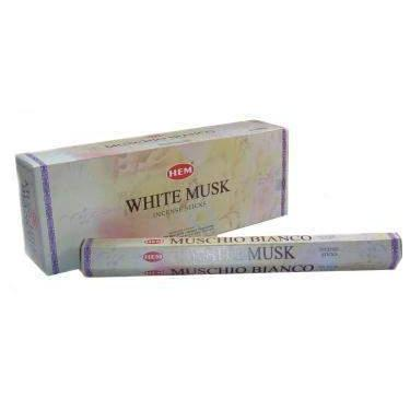 White Musk - Hem Incense Sticks