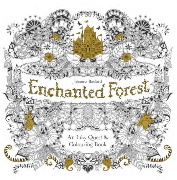 Enchanted Forest - An Adult Colouring Book