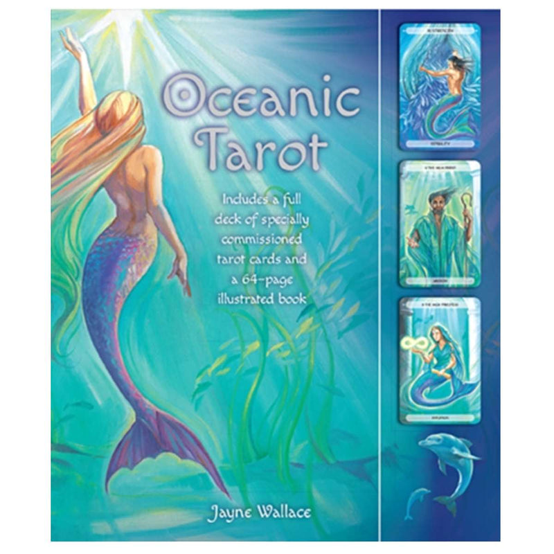 Oceanic Tarot : Includes a Full Desk of Specially Commissioned Tarot Cards and a 64-Page Illustrated Book