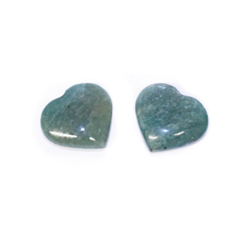 Small Amazonite Heart