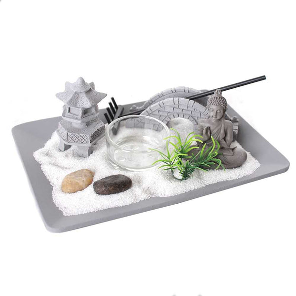 Zen Garden Tealight Candle Holder