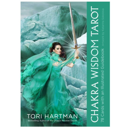 Chakra Wisdom Tarot : 78 Cards with Illustrated Guidebook by Tori Hartman