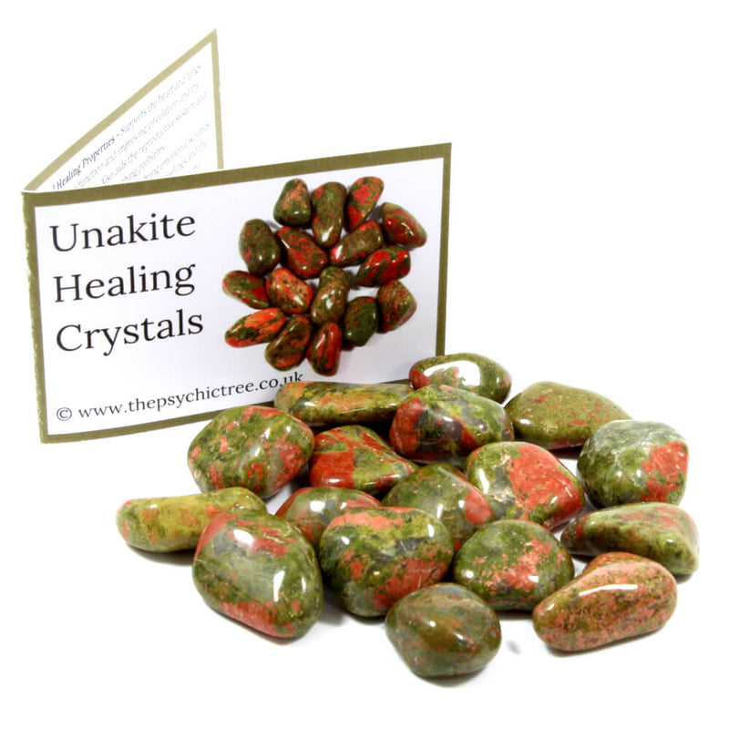 Unakite Tumblestone Value Pack